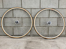 NJS Dura Ace Track Wheelset w/ bags GREAT CONDITION BARELY RIDDEN fixed gear