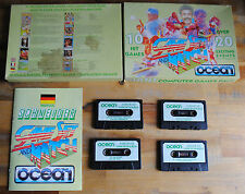 Jeu GAME SET AND MATCH 10 HIT GAMES pour AMSTRAD CPC (Cassette)