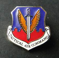 US AIR FORCE USAF TACTICAL AIR COMMAND LAPEL PIN BADGE 3/4 inch