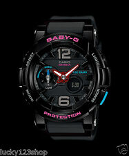 BGA-180-1B Black Baby-G Casio Lady Watches Resin Band Digital Brand-New Sport