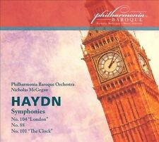 Haydn: Symphonies Nos.88, 101 & 104, New Music