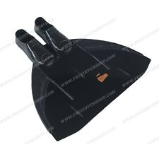 Leaderfins Freediving LF Black Monofin - ALL SIZES