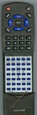 Replacement Remote for TEAC MCDX50I, RC1185, 0217DX50I1700