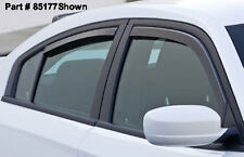 11-16 Charger GTS Smoke Snap In Channel Side Window Deflectors Visors 4pc 85177