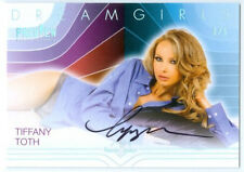 """TIFFANY TOTH """"AUTOGRAPH CARD #3/5"""" BENCHWARMER DREAMGIRLS PREVIEW 2016"""