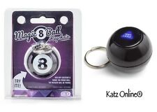 Magic 8 Key Ring Ball Chain Charm Keyring Keychain Novelty Stocking Filler Gift