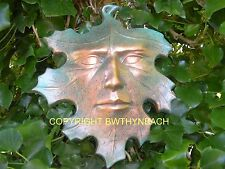 NEW RUBBER LATEX MOULD MOLD PAGAN WICCAN GREEN MAN GREENMAN WALL PLAQUE 10