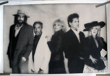 RARE FLEETWOOD MAC 1987 VINTAGE MUSIC RECORD STORE PROMO POSTER