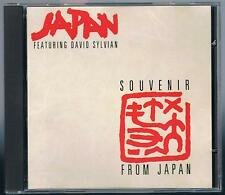 JAPAN featuring DAVID SYLVIAN A SOUVENIR FROM JAPAN CD HANSA