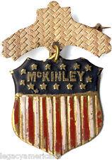 Antique 1896 William McKINLEY Campaign Badge (1749)