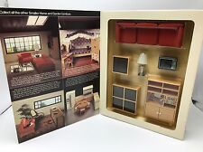 TOMY Smaller Home Garden Dollhouse Living Room Set NEW Box Furniture Sofa Table