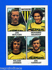 FOOTBALL 78 BELGIO - Panini Figurina-Sticker n. 386 - WATERSCHEI PLAYERS -Rec