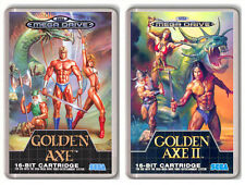 GOLDEN AXE SEGA MEGA DRIVE GENESIS 2 MAGNETS IMANES NEVERA