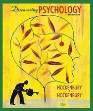 2 DAY SHIPPING ● Discovering Psychology by Sandra E. Hockenbury ● 5th Edition