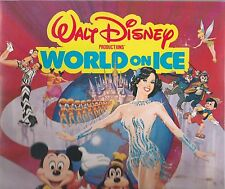 Walt Disney 1982 World On Ice World Premiere Program-Linda Fratianne