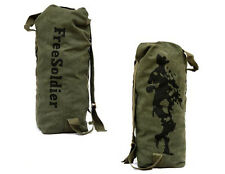 Military Army Waterproof Surplus Bag Duffle Bag Backpack Navy Black 33L Green