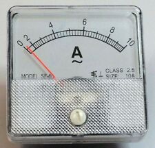 AC Analog 0 to 10  Ammeter, Panel Mount  PM010A-AC