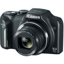 *NEW* Canon PowerShot SX170 IS 16.0 MP Digital Camera HD - Black