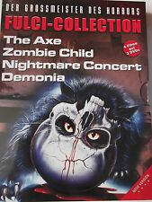 Lucio Fulci Collection  Nightmare Concert, Demonia, California Axe, Zombie Child