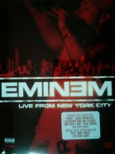 EMINEM LIVE FROM NEW YORK CITY 27 Songs The Way I Am Lose Yourself SEALED DVD