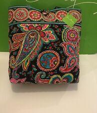 NWT Vera Bradley Tote Large Purse Handbag Shopping In Parisian Paisley