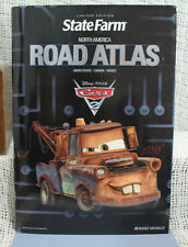 Disney Pixar Cars Tow Mater limited edition State Farm North America ROAD ATLAS