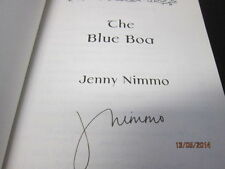 THE BLUE BOA JENNY NIMMO SIGNED 2004 HARDBACK WITH DJ
