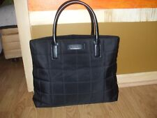 Givenchy Parfums Perfumes black quilted beach shopper book travel bag tote bag