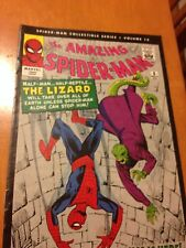 AMAZING SPIDER-MAN COLLECTIBLE SERIES VOLUME 12 REPRINTS ISSUE 6 1ST LIZARD LEE