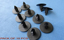 10x ROVER 75 NEGRO Fir Tree Interior Panel De La Puerta Clips Para Borde Moldura