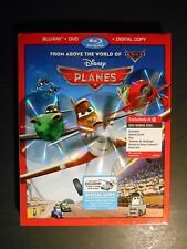 Disney's Planes (Blu-ray/DVD, 2013, 2-Disc Set) Target Exclusive NEW W/Slipcover