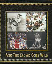 And The Crowd Goes Wild, Most Celebrated Sporting Events, Leatherette Book