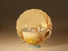 Rare Aynsley Water Lilly Tea Cup and Saucer c.1930