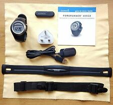 Garmin Forerunner 405 Black with Heart Rate Monitor GPS Receiver & ANT USB Stick