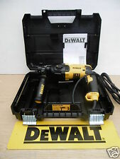 BRAND NEW DEWALT D25133K 3 MODE 800W SDS HAMMER DRILL 110v + 8MTR TYLON TAPE