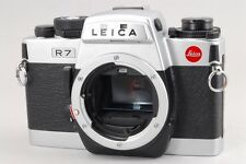 【A- Mint】 Leica R7 Silver Chrome 35mm SLR Film Camera Body From JAPAN #2406