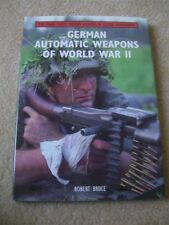 German Automatic Weapons of World War 2 Book