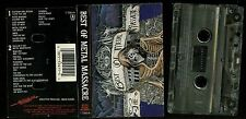 Best Of Metal Massacre USA Cassette Tape Omen Trouble Overkill Warlord Possessed