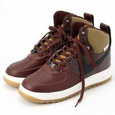 NIKE WINTER LUNARFORCE 1 AF1 SNEAKERBOOT 654481 200 Brown/Black UK 6 EU40 NEW!