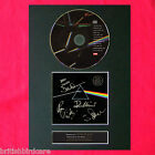 PINK FLOYD Dark Side Of The Moon RARE Signed Cd MOUNTED A4 Autograph Print (60)