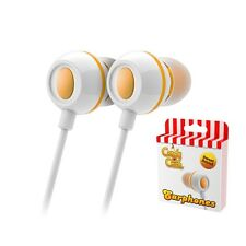 Candy Crush In-ear Headphones Mango Naranja-Iphone Tablet Smartphone Ipad