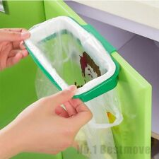 Green portable kitchen garbage bag plastic new