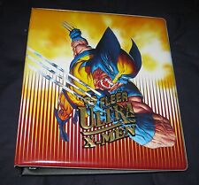 1995 Fleer Ultra X-Men Collector's Card ALBUM/BINDER Rare!! Marvel