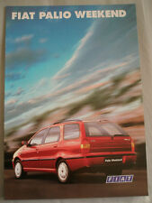 Fiat Palio Weekend brochure Oct 1998 French text