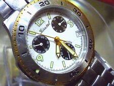 Liestal Swiss Chronograph 38 mm Quartz Watch w/ Stainless Steel Bracelet