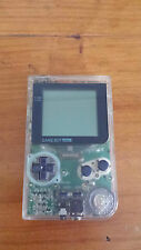 Nintendo Game Boy Small Pocket Handheld Console - Clear Edition ***WORKING***