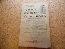 1925.Cours d'Action Française.Mistral.Marius André