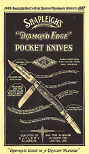 St Louis MO Shapleigh's Rare Diamond Edge Pocket Knives 1937 Postal Card