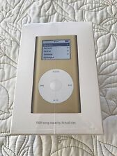 Rare NIB Sealed Apple iPod mini 1st Generation Gold (4GB)