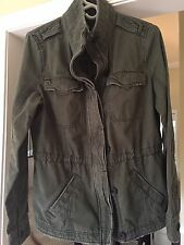 Abercrombie & Fitch Ladies Twill Military Jacket
